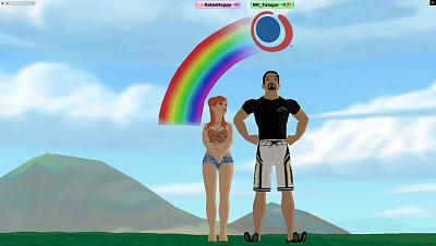 Click image for larger version.  Name:rainbow day1.jpg Views:58 Size:65.5 KB ID:76